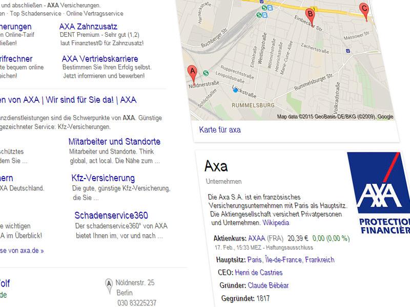 AXA will Geschädigten Alternativwerkstatt aufzwingen