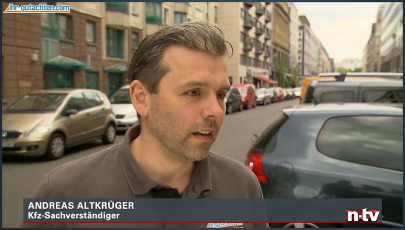 n-tv Bericht Kfz Sachverständiger Ratgeber Experteninterview