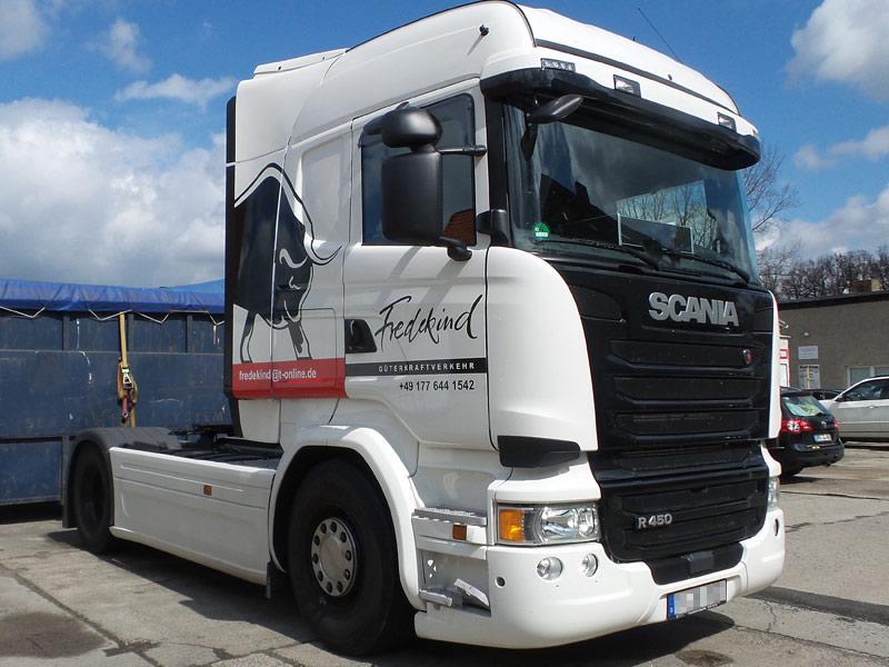 LKW Gutachten Scania Zugmaschine