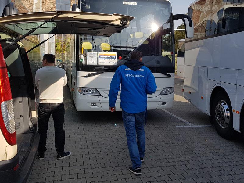 Gutachten Reisebus