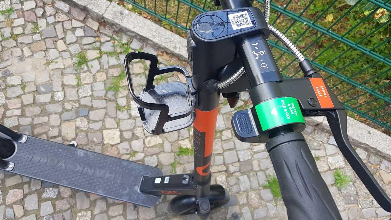Unfall mit e-Roller